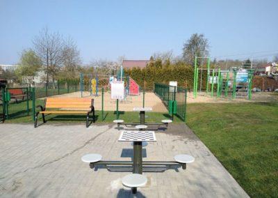Strefa sportowa Szczecin ul.Hoża