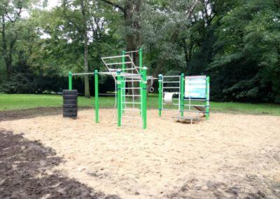 Strefa sportowa Szczecin Park Żeromskiego
